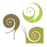 Escargot illustration de vecteur