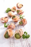 escargot Stock Afbeeldingen