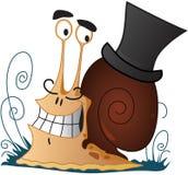 Escargot illustration stock