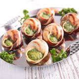 Escargot Royalty Free Stock Images