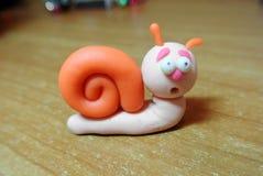 Escargot d'argile photos stock