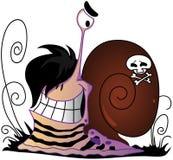 escargot d'emo illustration libre de droits