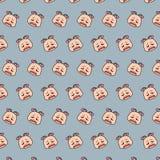 Escargot - modèle 79 d'emoji illustration stock