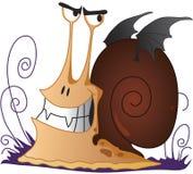 Escargot - vampire illustration de vecteur
