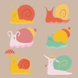 escargots illustration libre de droits