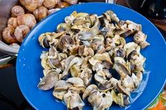 Escargots de la Bourgogne Image libre de droits