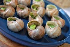 Escargots de raisin cuits au four Photo stock