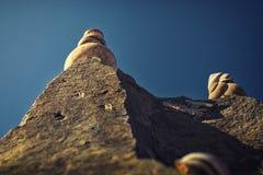 Escargots sur la roche Photo stock