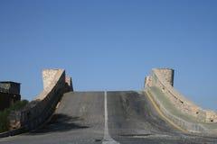 Escarpado puente Foto de archivo