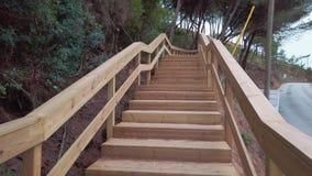 Escarpas footbridge in portugal