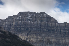 Escarpment Альберта Канада замка Стоковые Фото