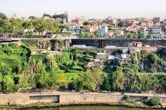 Escarpment on the city of Porto Royalty Free Stock Photos
