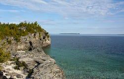 Escarpment de Niagara fotografia de stock
