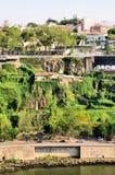 Escarpment in the Douro river Royalty Free Stock Photo