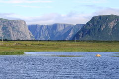 Escarpment at Western Brook Royalty Free Stock Photography