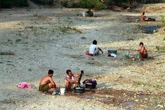 Escasez de agua potable Foto de archivo libre de regalías