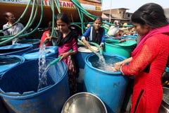 Escasez del agua fotografía de archivo