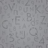 Escaso gris Imagen de archivo libre de regalías