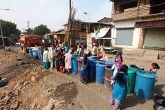 Escassez da água Imagens de Stock