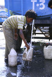 Escassez de água Foto de Stock