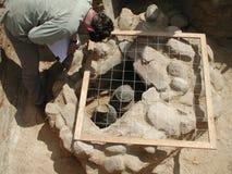 Escavação Imagens de Stock Royalty Free