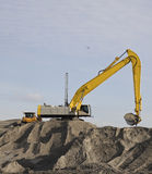 Escavação Foto de Stock Royalty Free