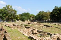 Escavação arqueológico Fotos de Stock Royalty Free