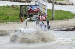 Escavação do carrinho de pântano mais profunda Imagem de Stock