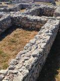 Escavações das ruínas da cidade antiga de Hersones Crimeia Rússia foto de stock
