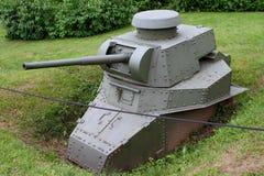 Escavado sob a forma de um carro de combate leve T-18 da caixinha de comprimidos com um canno de 45 milímetros imagem de stock royalty free