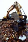 Escavador foto de stock
