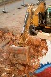 Escavador foto de stock royalty free