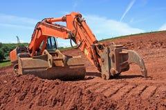 Escavador Imagens de Stock