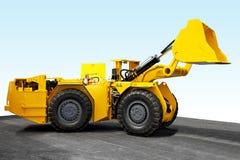 Escavador da mineração fotografia de stock