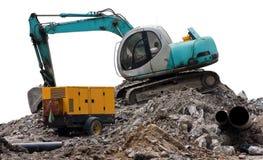 Escavador de turquesa Imagens de Stock