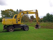Escavador hidráulico Fotografia de Stock Royalty Free