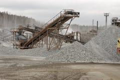 Escavador hidráulico Imagens de Stock