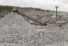 Escavador hidráulico Imagem de Stock