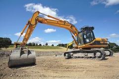 Escavador industrial Foto de Stock Royalty Free