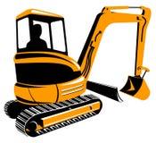 Escavador mecânico Fotografia de Stock
