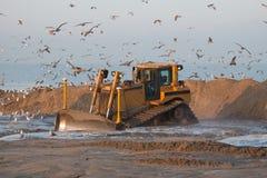 Escavadora Foto de Stock