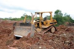Escavadora Fotografia de Stock Royalty Free