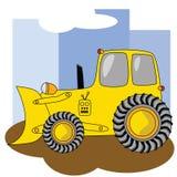 Escavadora 2 dos desenhos animados Fotografia de Stock