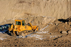 Escavadora Fotos de Stock Royalty Free