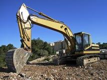Escavadora 3 foto de stock