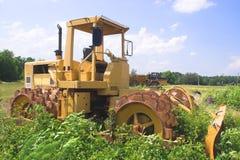 Escavadora abandonada Imagem de Stock