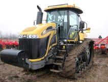 Escavadora amarela Foto de Stock