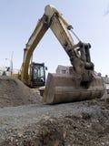 Escavadora da construção Fotografia de Stock Royalty Free