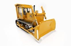 Escavadora pesada da esteira rolante Fotos de Stock Royalty Free