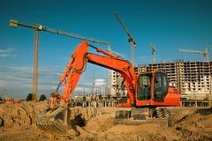 Escavatore Fotografie Stock